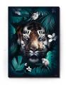 Plakat / Canvas / Akustik: Tiger in Jungle (Animals)
