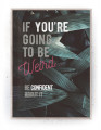 Plakat / Canvas / Akustik: Weird Confident (Quote Me)