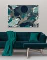 Plakat / Canvas / Akustik: Wonderful (Grøn) Storformat / Panorama (Earth)