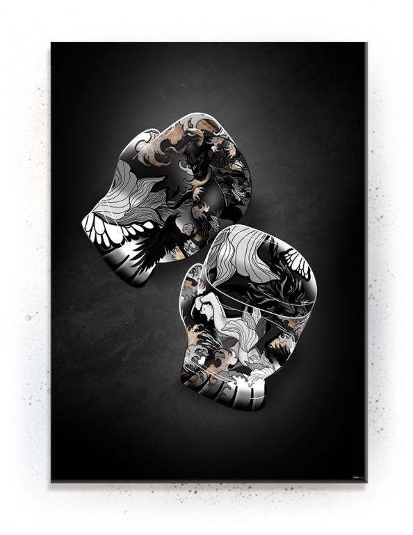 Tyr (Black Gold) - plakat eller Lærredsprint