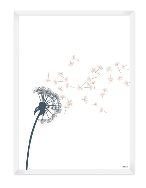 Poster: Dandelion (Spring)