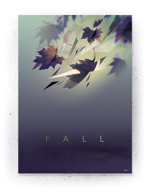 Plakat / canvas / akustik: Falling leaves (Fall)