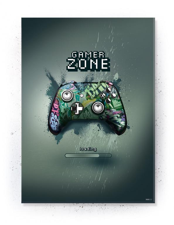 Plakat / Canvas / Akustik: Gaming Zone (Gamer)