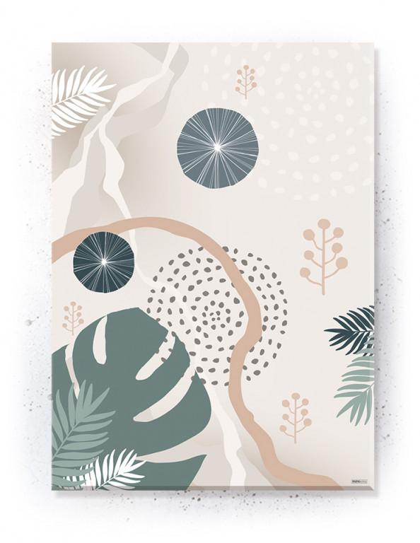Plakat / canvas / akustik: Leaves I (Dust)