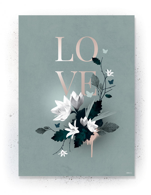Plakat / CANVAS: LOVE 5 (Earth)