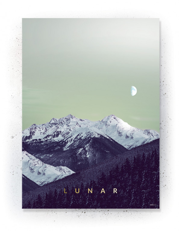 Plakat / canvas / akustik: Lunar (Fall)