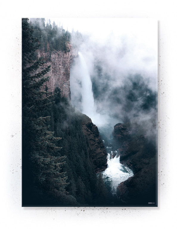 Poster, Canvas, Acoustics: Mountain Pass (Withered)