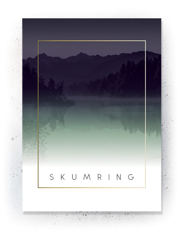 Plakat / canvas / akustik: Skumring (Fall)