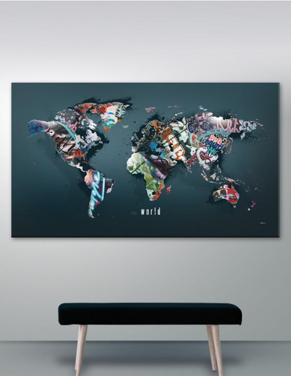 Plakat / Canvas / Akustik: The World (Statements)