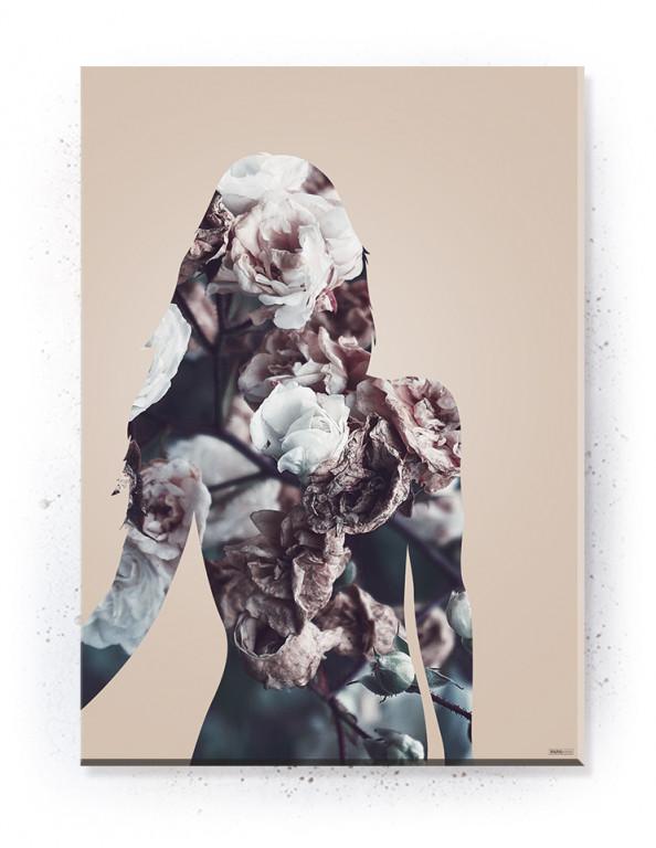 Plakat / canvas / akustik: Woman Silouette (Dust)