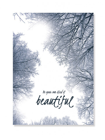 Plakat/Canvas: Be your own kind of Beautiful (IMAGINE)