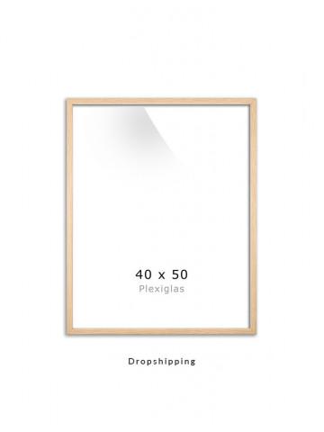Dropshipping / Ramme: Eg (Look) 40x50cm