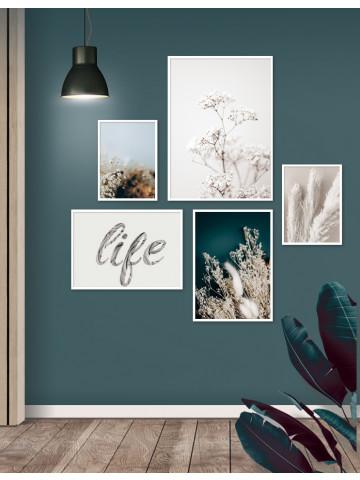 Spotpris / Plakater: 5 x plakater i 50x70cm, 30x40cm og 21x30cm (Plakatsæt)