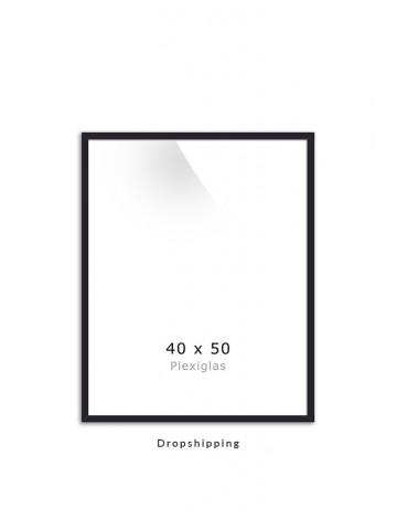 Dropshipping / Ramme: Sort 40x50cm
