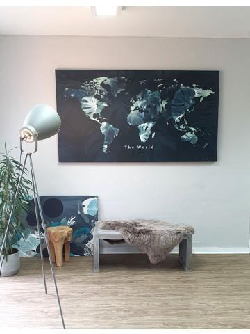 Spotpris / Canvas: The World / Green (Earth)
