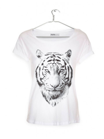 T-Shirt with TIGER print (WHITE)