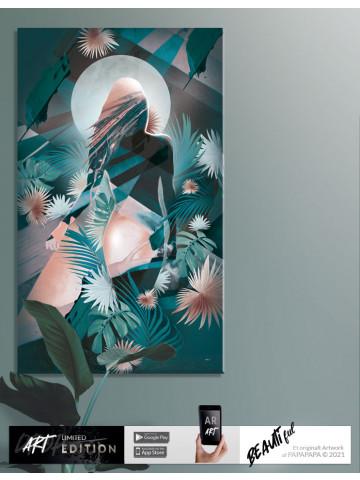 Artdrop / Canvas: Woman Entity (Limited Edition)