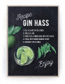 Plakater / Canvas / Akustik: Gin Hass (Kitchen)