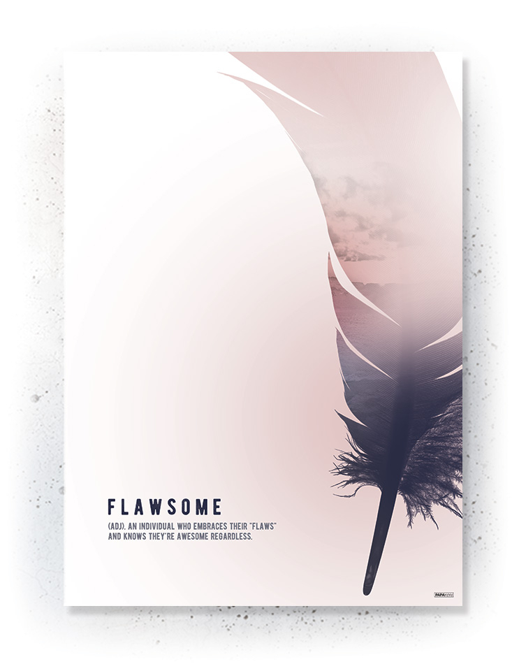 Plakat / canvas / akustik: Flawsome 2 (MIDSOMMER)
