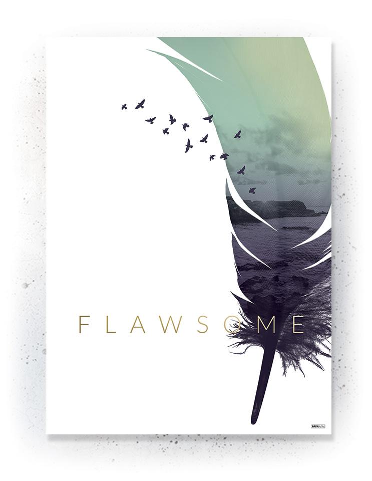 Plakat / canvas / akustik: Flawsome (Fall)