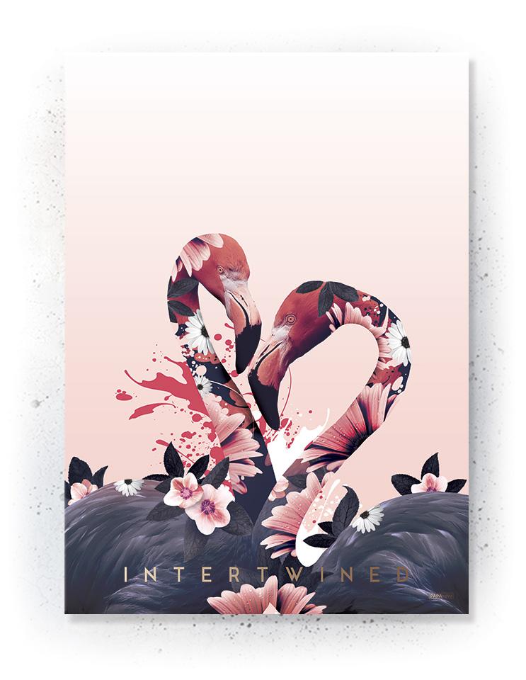 Plakat / canvas / akustik: Intertwined (MIDSOMMER)