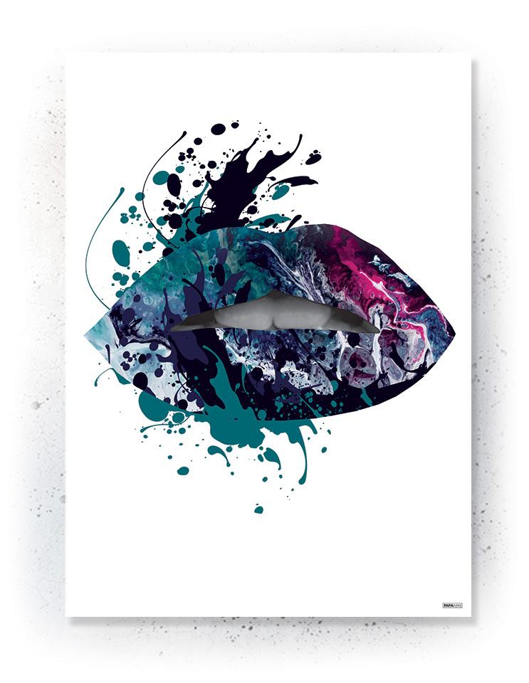 Plakat / canvas / akustik: Kiss (Colorize / Love)