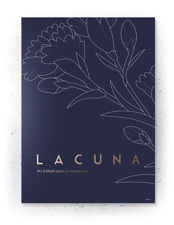 Plakat / canvas / akustik: Lacuna (MIDSOMMER)