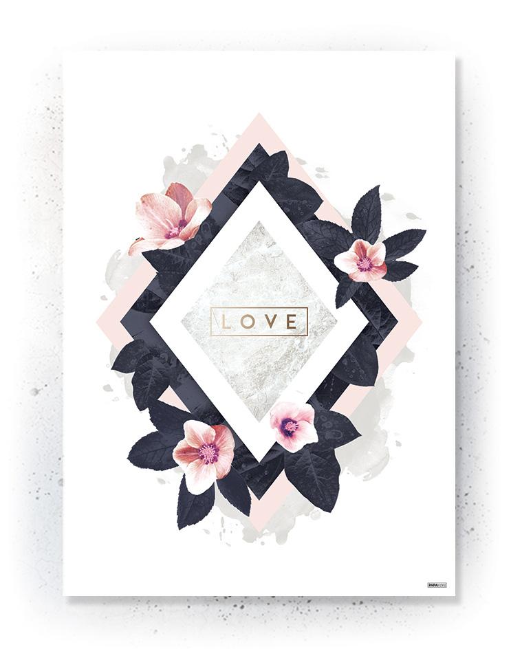 Plakat / canvas / akustik: Love 2 (MIDSOMMER)