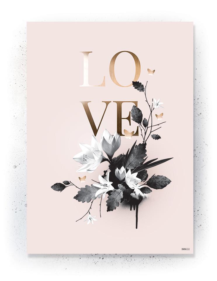 Plakat / canvas / akustik: LOVE (Obsession)