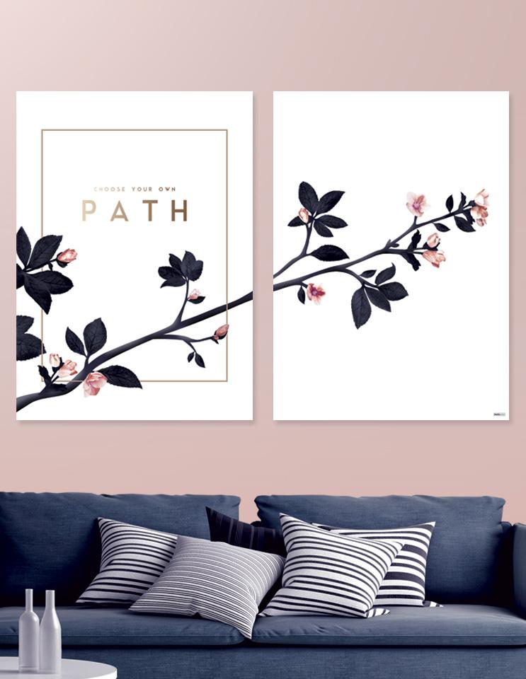 Plakat / canvas / akustik: Path (MIDSOMMER)