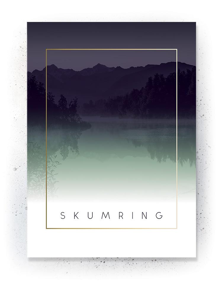 Plakat / canvas / akustik: Skumring (Fall)