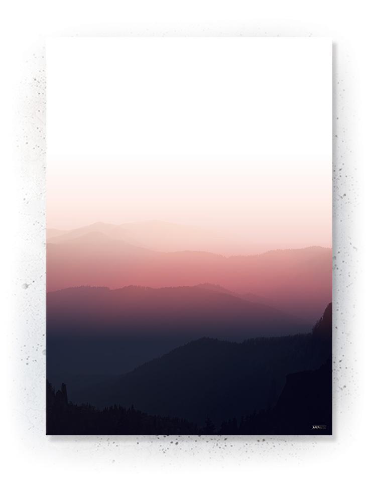 Plakat / canvas / akustik: Solnedgang (MIDSOMMER)