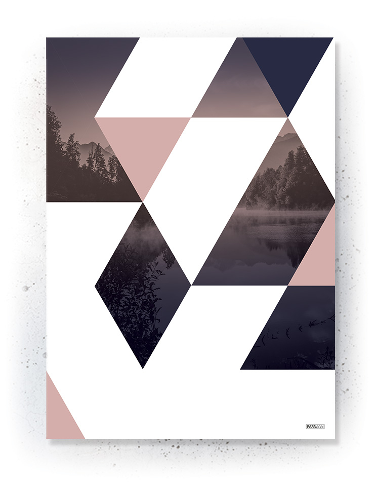 Plakat / canvas / akustik: Trekanter (MIDSOMMER)